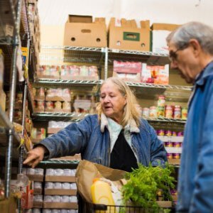 Pierce County food bank clients